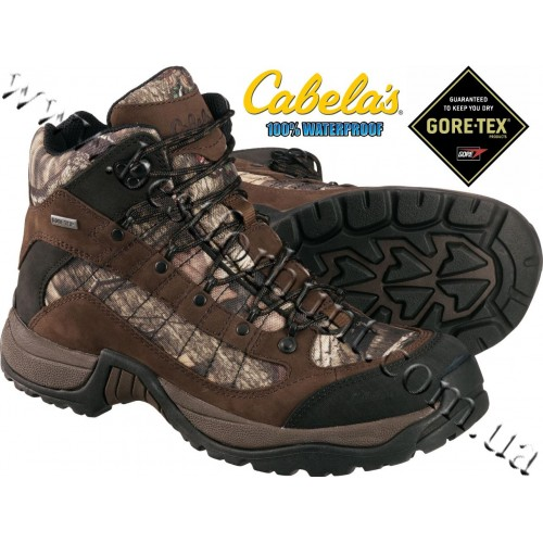 Cabela's Gore-Tex® Camo Twin Rivers Hiking Boots Mossy Oak® Break-Up® Infinity™