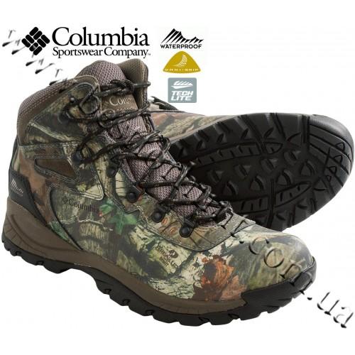 Columbia Sportswear® Newton Ridge™ Plus Camo Waterproof Hiking Boots Mossy Oak® Break-Up® Infinity™