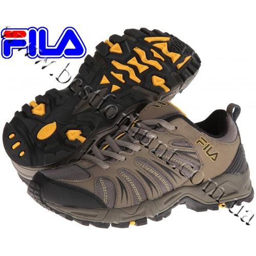 Fila® Trailbuster 2™ Hiking Shoe Major Brown-Walnut-Gold Fusion