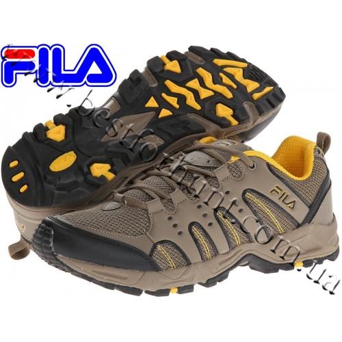 Fila® Trailrocker™ Hiking Shoe Major Brown-Walnut-Gold Fusion