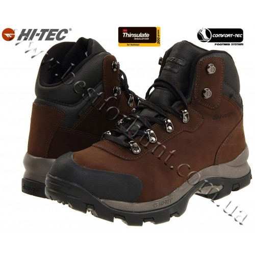 Hi-Tec® Altitude™ Snow Insulated Boots Dark Chocolate