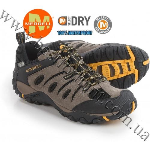 Merrell® Onvoyer Waterproof Hiking Shoes Boulder-Old Gold