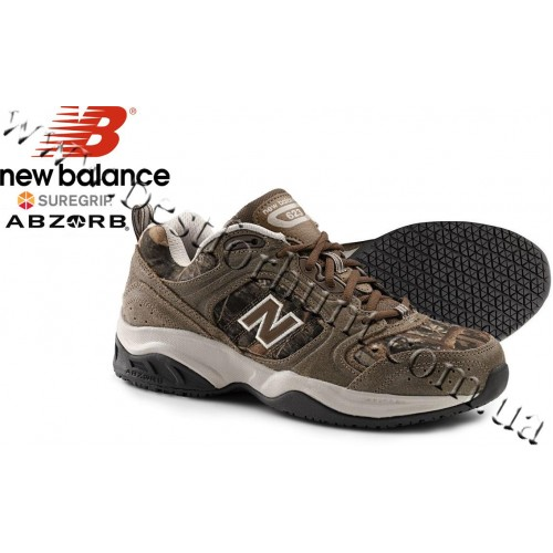 New Balance® SureGrip® Slip Resistant 623 Athletic Shoes True Timber® Conceal Green Camo