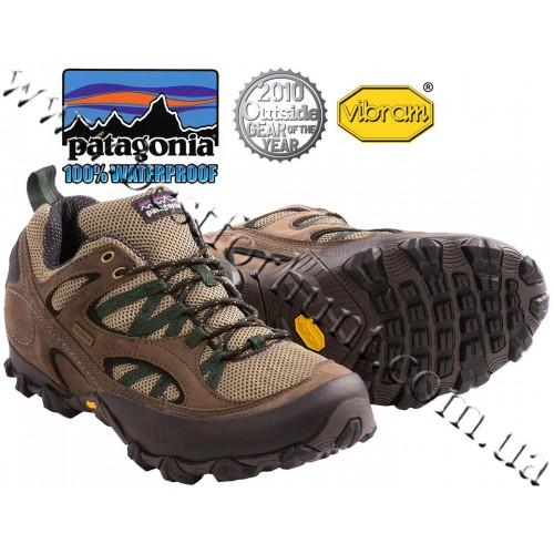 Patagonia Drifter A/C Waterproof Trail Shoes Canteen-Smoked Green