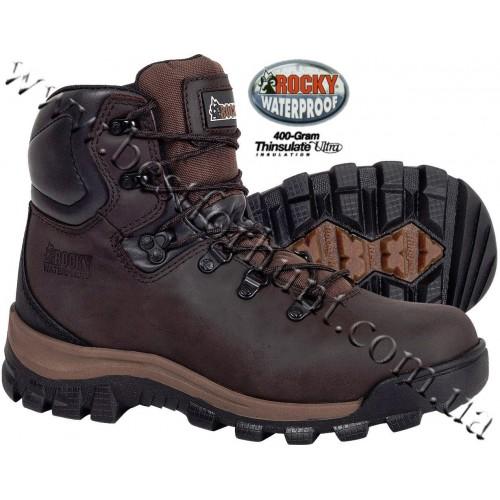 Rocky® Core 400-gram Insulated Waterproof Hiker 2422 Brown