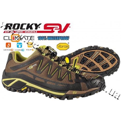 Rocky® S2V Declination Athletic Trail Shoe RE002 Dark Olive