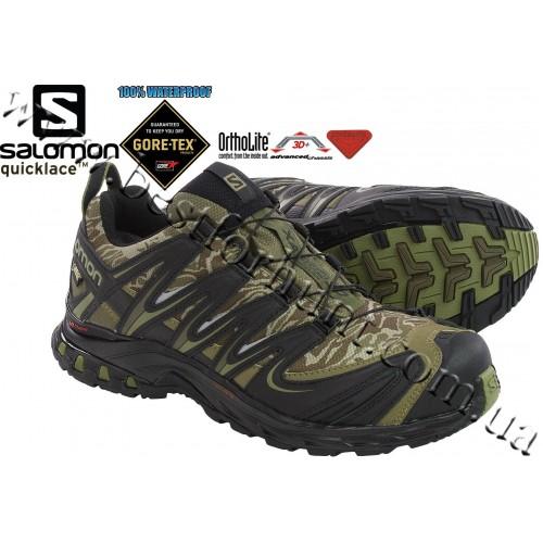 Salomon® XA Pro 3D GTX® Camo Trail Running Shoes