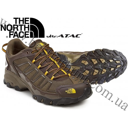 The North Face® Ultra 109 Trail Shoes Weimaraner Brown - Leopard Yellow
