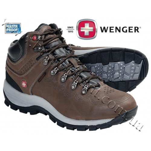 Wenger Outback Waterproof Hiking Boots