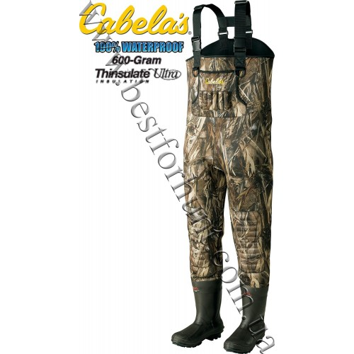 Cabela's Classic 3.5mm Chest Hunting Waders True Timber® DRT™