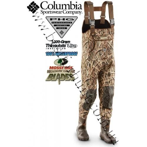 Columbia® Gadwall Waders Mossy Oak® Shadow Grass® Blades™