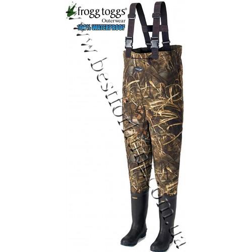 Frogg Toggs® Bogg Togg™ 2-Ply Bootfoot Wader Advantage® MAX-4™ HD®