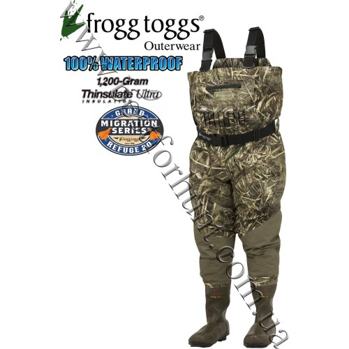 Frogg Toggs® Grand Refuge 2.0™ Breathable 1'200-gram Insulated Wader Realtree MAX-5®