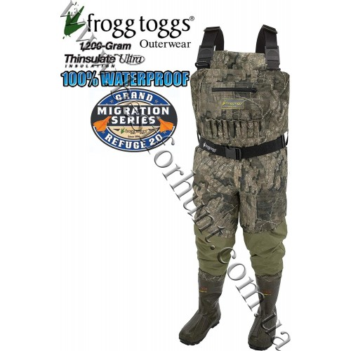 Frogg Toggs® Grand Refuge 2.0™ Breathable 1'200-gram Insulated Wader Realtree Timber®
