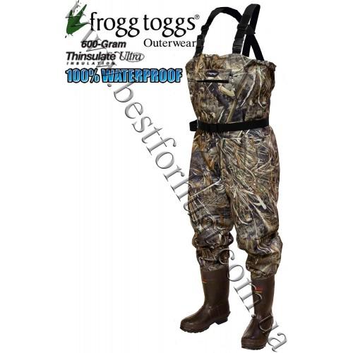 Frogg Toggs® Hellbender™ 600-gram Camo Microfiber Breathable Wader Realtree MAX-5®
