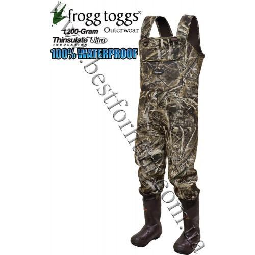 Frogg Toggs® Marsh Togg™ 3.5mm Bull Hide Camo Neoprene Wader Realtree MAX-5®