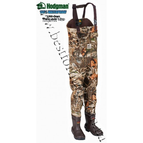 Hodgman® Dura-Mag™ 1000 gram 3.5mm Neoprene Chest Waders Realtree MAX-4®