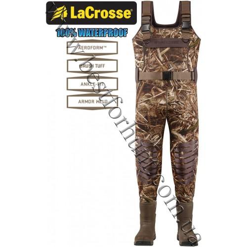 LaCrosse® Aero Tuff® 1500-gram Insulated Waders Realtree MAX-5®