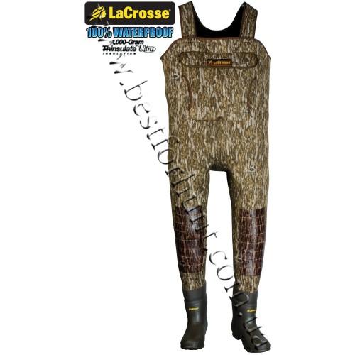LaCrosse® Super-Tuff® 1000-gram Insulated Waders Mossy Oak® Bottomland®