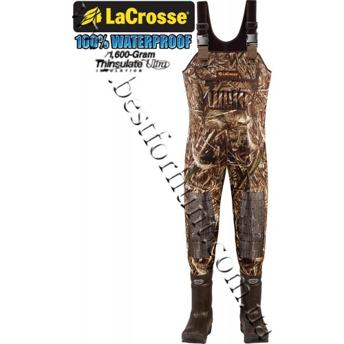 Lacrosse® Brush Tuff Extreme™ 1600g Thinsulate® Ultra Insulation ATS Waders Realtree Max-5 700055