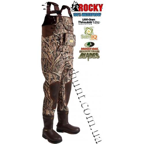 Rocky SIQ Waterfowler Neoprene MudSox Chest Wader RKYS082 Mossy Oak® Shadow Grass Blades™