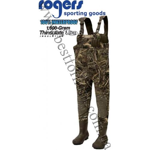 Rogers® Elite 1,600 gram 5mm Neoprene Waders Realtree MAX-5®