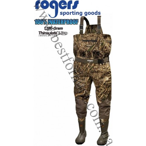 Rogers® Toughman 2-In-1 Insulated Breathable Wader Realtree MAX-5®