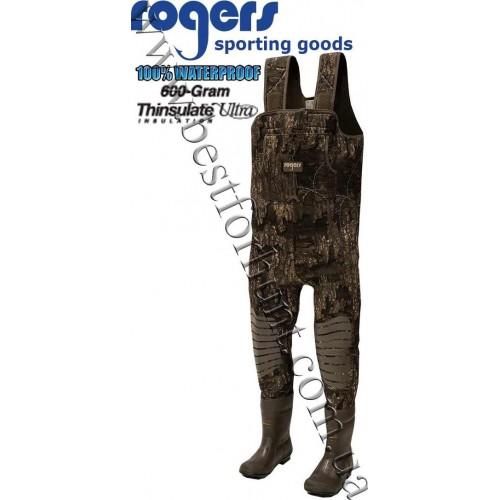 Rogers® Working Man 3.5mm Neoprene Waders Realtree Timber®