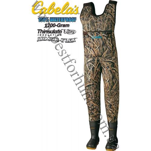 Cabela's Women's Ultimate Cazadora Hunting Waders II Mossy Oak® Shadow Grass® Blades™